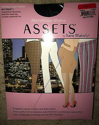 New Spanx Perfect Pantyhose Maternity Marvelous Pregnancy Assets Sz 1 Black