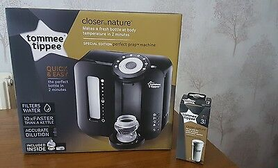 Brand new and sealed Tommee tippee perfect prep machine black