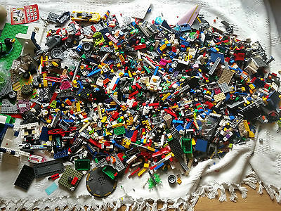 lego mixed lot various items 12kg of lego some unused