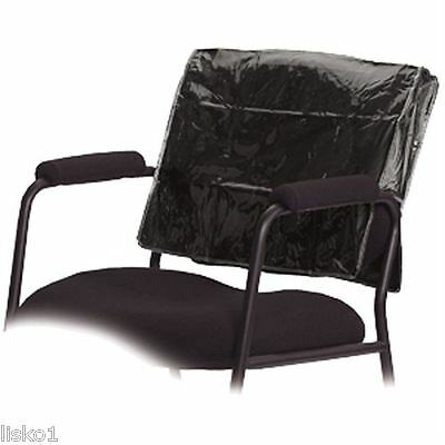 Betty Dain 196 Deluxe Black Square Styling Salon Vinyl Chair Back Cover