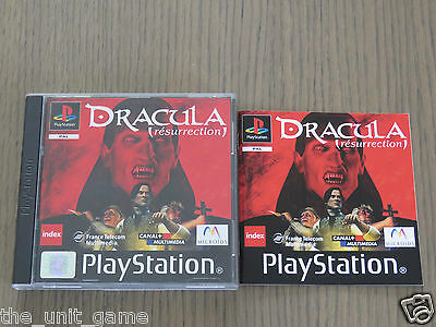 Jeu Playstation Ps1  Dracula The Resurrection  Complet