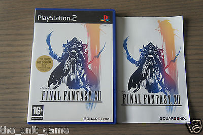 Jeu Playstation 2 Ps2  Final Fantasy Xii  Complet En Anglais .