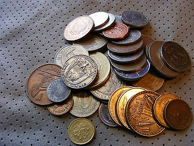 Very Nice 1/2 pound Lot of Old World and new Foreign Coins