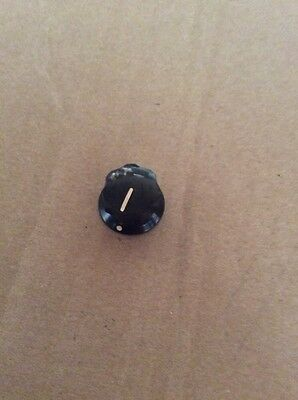 "NOS Ohmite 5150 Finger Grip Knob, Slotted Set Screw, 1/4"" Shaft"