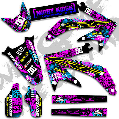 1995 1996 HONDA Cr 250 R Dirt Bike Graphics Kit Motocross Mx