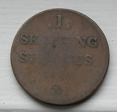 1816 Norway One Skilling coin