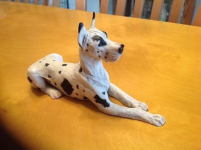 Castagna 1989 Harl Great Dane Statue Figure cropped