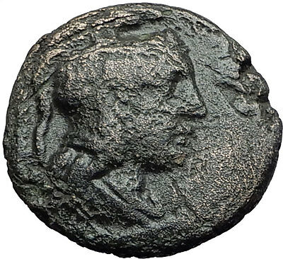 PELLA in MACEDONIA 187BC Athena Nike Chariot Authentic Ancient Greek Coin i59685