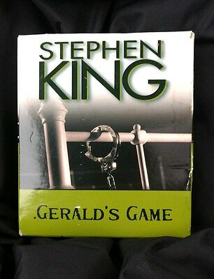 Gerald's Game by Stephen King (11 CD, Unabridged) Audio Book Audiobook
