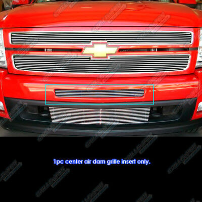 For 2007-2013 Chevy Silverado 1500/07-10 2500/3500 Air Dam Billet Grille Grill