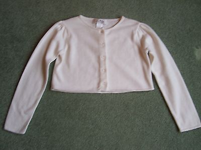 Girls Size 5 Janie And Jack Special Occasion Spring Cropped Cardigan Sweater