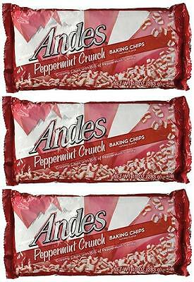 3 Packs Andes Peppermint Crunch Baking Chips