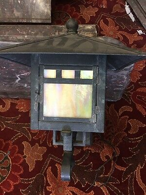 Arts And Crafts Craftsman Style Exterior Light