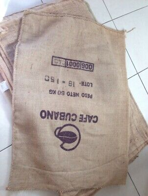 10X Hessian Sacks (Coffee Bags ) Large & Strong Jute For Sack Race /crafts Etc