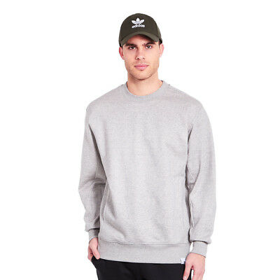 adidas - XbyO Sweater Medium Grey Heather Pullover Rundhals