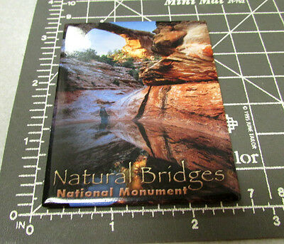 Natural Bridges National Monument Utah Fridge magnet, great collectors item