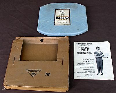 Vintage 1960s Jack LaLanne's TWIST AWAY TWISTER Exerciser With Box & Instruction
