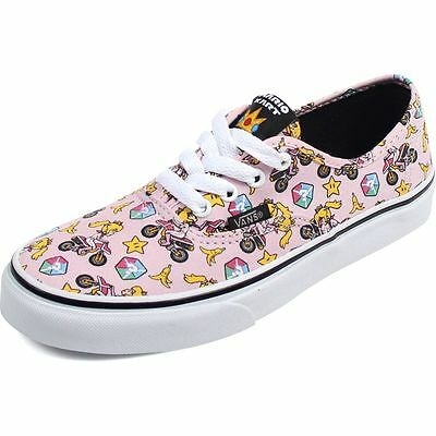 5ef8c813dcb Vans Authentic Nintendo Kids Size 10.5 Princess Peach Pink NIB vn0004j1k4x