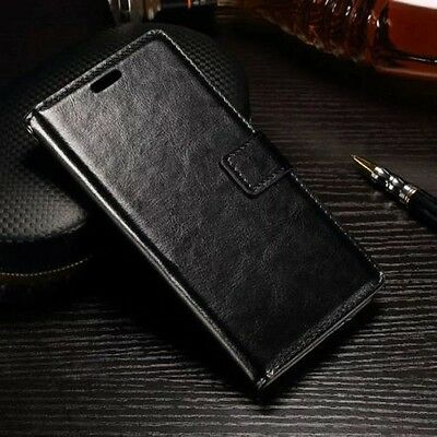 Luxury Leather Magnetic Flip Stand Wallet Cover Case For Various Mobile Phone M
