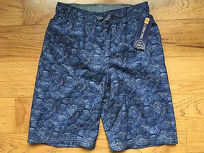 Cherokee-Boys Size 12-14-Blue Swim Shorts -New With Tags