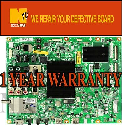 Mail-in Repair Service For LG 42LE5400 Main Board 1 YEAR WARRANTY