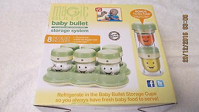 New Magic Bullet Baby Bullet Storage System