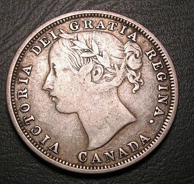 Old Canadian Coins Rare 1858 Canada Twenty Cents Free Shipping Us And Ca