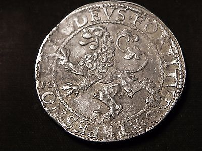 1604 West Friesland Netherlands Lion Daalder (Thaler) Nice !