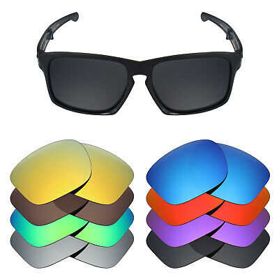 Mryok Anti-Scratch Polarized Replacement Lens for-Oakley Sliver F Foldable -Opt.