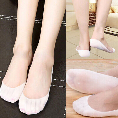 Hot Full Length Silicone Gel Moisturizing Sock Foot Care Protector Treatment
