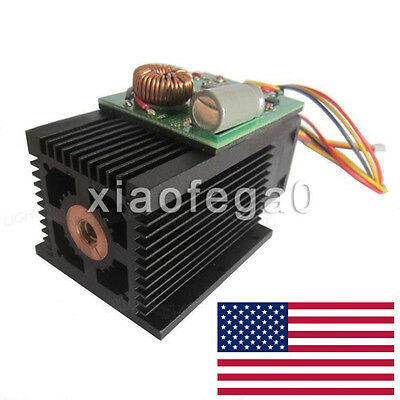 450nm 445nm 15w 15000mw High-Power Blue Laser Diode Module Engraving Wood Metal