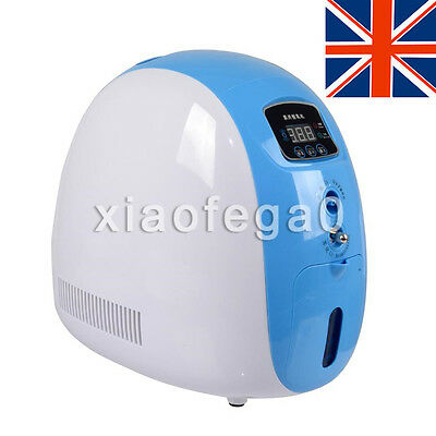 Green Portable Full Intelligent Home Oxygen Concentrator Generator Machine O2 5L