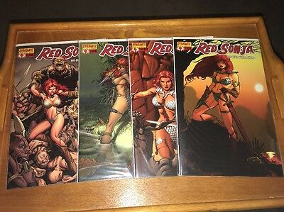 Red Sonja #4 Vol.1 A,B,C,D Covers She Devil With A Sword Dynamite Comics NM