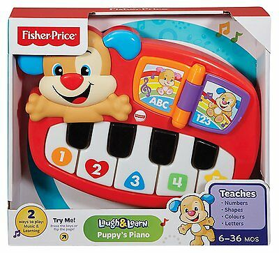 Interactive Baby Learning Toddler Music Toy Fisher-Price Puppy's Piano Best Gift