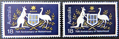 1976 Australian Stamps - 75th Anniversary of Nationhood - Set of 2 MNH