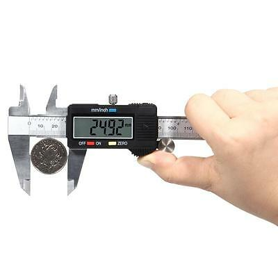 Digital Electronic Stainless Steel 150mm 6inch Caliper Micrometer Measure Tools