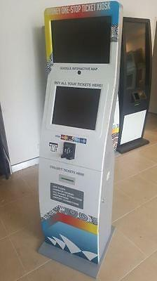 ticket sales terminals/business kiosks business for sale