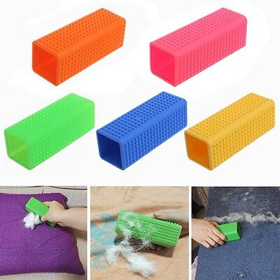 Pet Hair Removal Brush Hollow Soft Silicone Dog Hair Brush Grooming Accessories