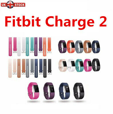 FitBit Charge 2 Strap Replacement Band Classic Metal Buckle Wristband Accessory