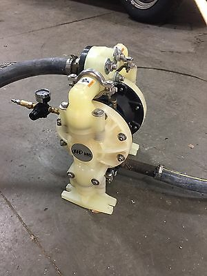 """Nearly New ARO 1"""" Double Diaphragm Pump 6661A3-34B-C 47 GPM"""