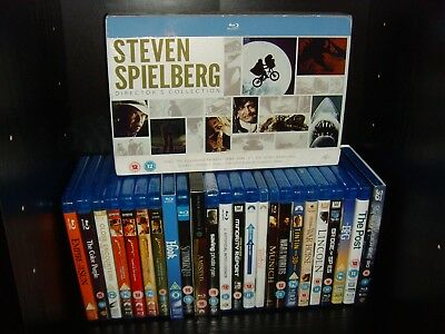 Steven Spielberg Complete Collection 38 Blu ray - Duel to Ready Player One 3D