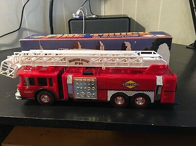 "Vintage ""sunoco Aerial Tower Fire Truck"""