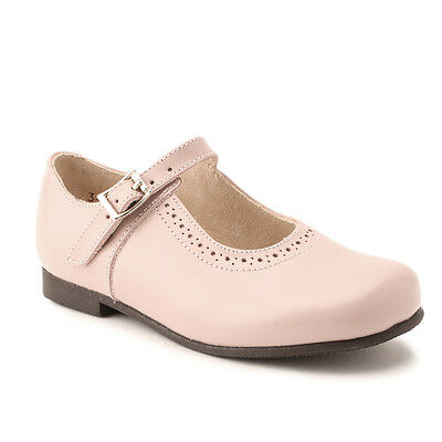 Start-rite Clare Pink Leather Buckle Classic Shoes F fitting