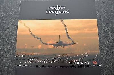 Catalogue Brochure BREITLING RUNWAY 12 Montres Watches  °