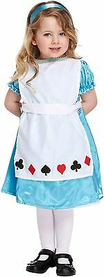 Alice In Wonderland Fancy Dress Dressing Up Costume Toddler Outfit Age 3 NEW