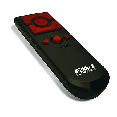 FAVI Wireless Presenter Mouse with Laser Pointer - Black (FP3-BL)