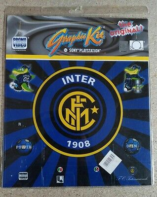 """Cover skin """"Inter"""" per playstation 1"""
