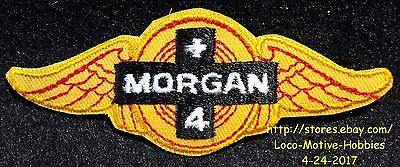 LMH PATCH Badge  MORGAN +4 Plus Motor British Sports Car Coupe Convertible Wings