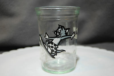 1990~Tom & Jerry Surfing~Welch's~Jelly, Jam, Juice, Glassware, Anchor Glass