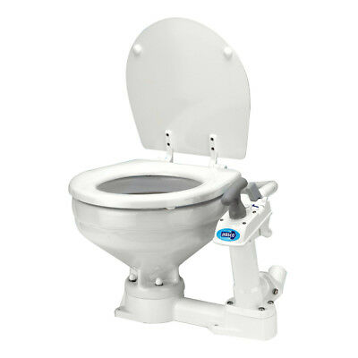 Jabsco Manually Operated Marine Toilet - Compact Bowl [29090-3000]